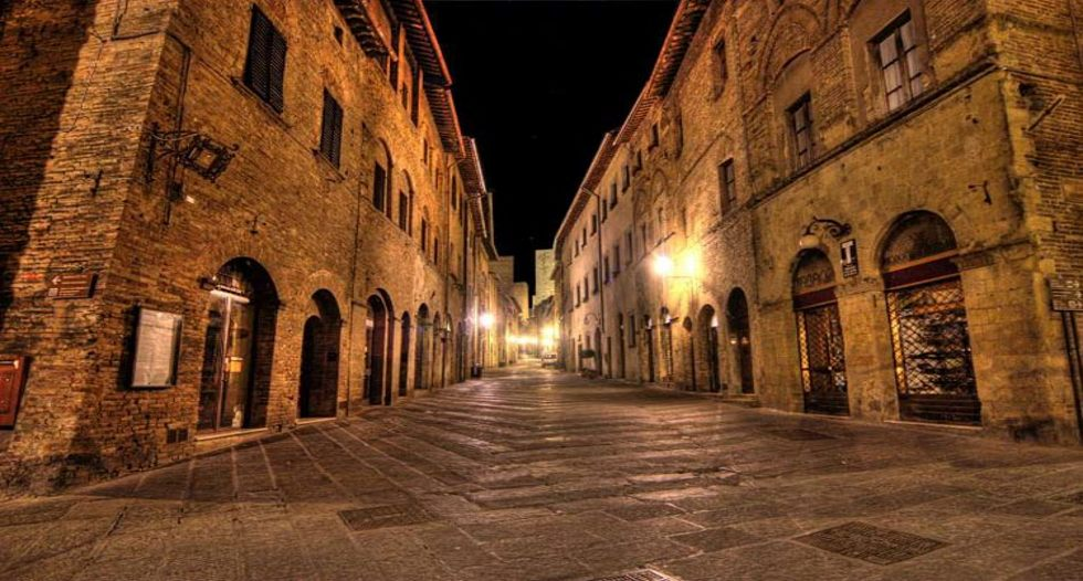 how to find hotel in san gimignano location antico pozzo Foto