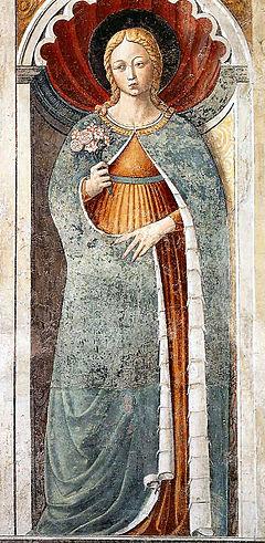 Santa Fina patrona di san Gimignano