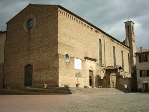 SantAgostino 300x225 Great music in San Gimignano: Portsmouth Choral Union in concert in St. Augustine Church