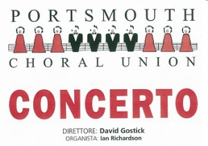 locandina concerto Portsmouth Choral Union 300x211 Great music in San Gimignano: Portsmouth Choral Union in concert in St. Augustine Church