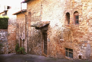 La casa natale di Santa Fina a San Gimignano