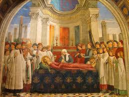 Santa Fina Chapel Ghirlandaio nel Duomo di San Gimignano