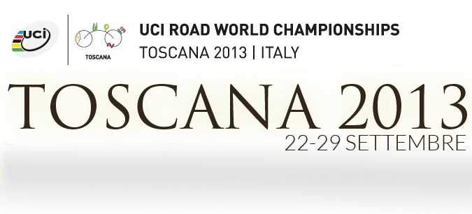 mondiali ciclismo September in San Gimignano for a... world  holiday