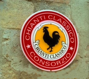 Chianti Classico Wine Sign Tuscany 300x265 The legend of Gallo Nero