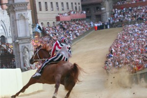 Palio di Siena 300x200 The Palio di Siena on August 16