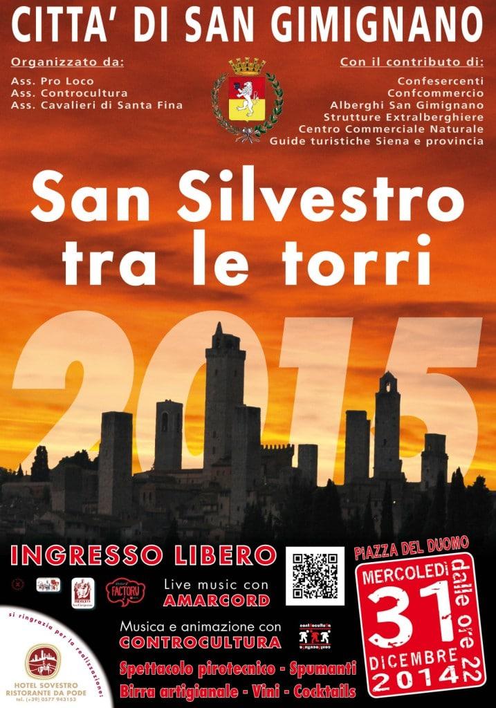 Manifesto San Silvestro 2014 717x1024 Capodanno a San Gimignano