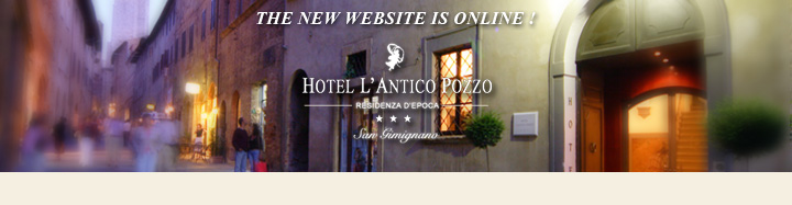 New official website Antico Pozzo Hotel San Gimignano